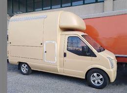 Autonegozio food truck GUSTI-BUS