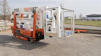Piattaforma aerea cingolata EASY LIFT RA15