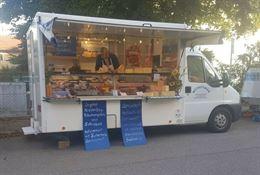 Autonegozio Ducato food truck salumeria