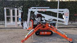 Piattaforma Aerea Cingolata Spider R130