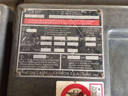 Carrello elevatore elettrico FIAT OM modello EU 30